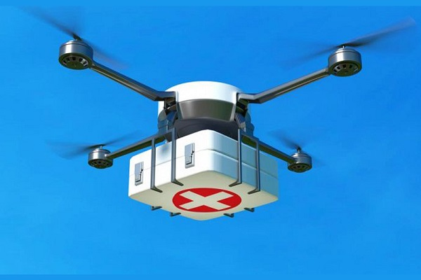 Vaccini drone salvavita, consegna farmici nelle isole