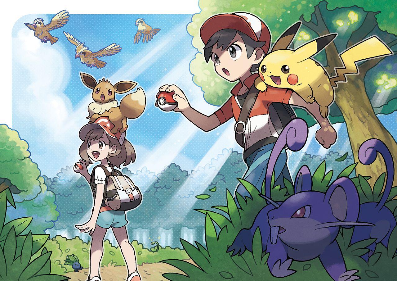 Pokemon Let's Go: arriva il nuovo capitolo per Nintendo Switch