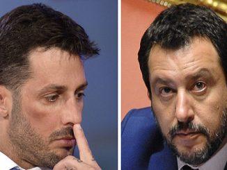 Fabrizio Corona video contro Salvini: polemiche su Facebook