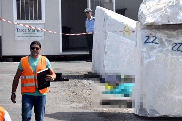 Morti bianche: schiacciato da masso a Carrara, assunto per 6 giorni