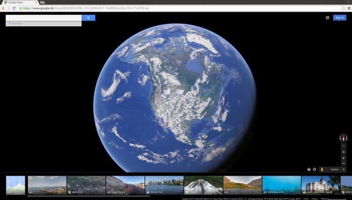 Google Maps: addio alla terra piatta, adesso è in 3D