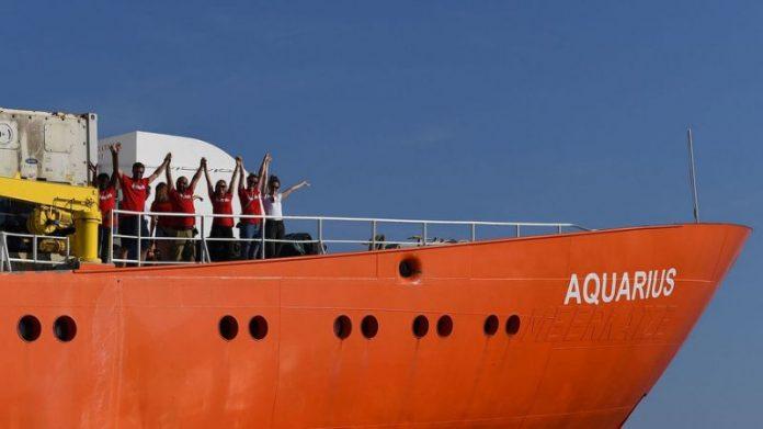 Nave Aquarius: l'odissea continua, l'Italia rifiuta di accoglierla