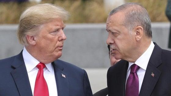 Erdogan contro gli Stati Uniti: