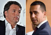 """Scontro Renzi-Di Maio, l'ex premier: """"Bugiardo o sciacallo"""""""