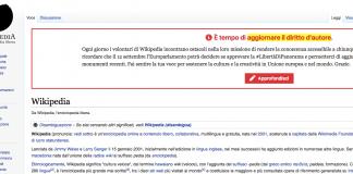 Wikipedia Italia oscura le immagini: a breve la decisione sul copyright