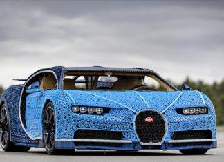 Bugatti Chiron: la prima auto fatta con mattoncini Lego
