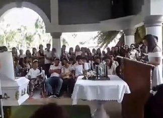 Sposa il fidanzato morto prima del funerale