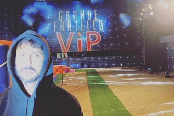 Fabrizio Corona show al Gf Vip 3, la replica su Instagram