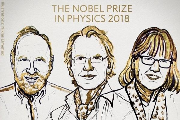 Premio Nobel Fisica 2018, ecco chi lo ha vinto