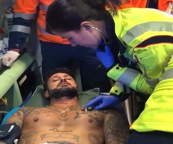 Fabrizio Corona aggredito nuovo video su Instagram, le sue condizioni
