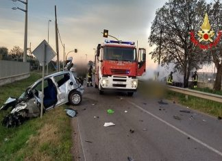 incidente migliara morto feriti