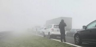incidenti nebbia tamponamento
