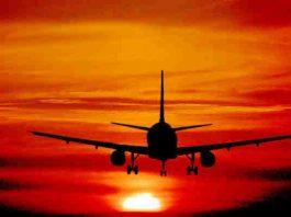 prima volta aereo
