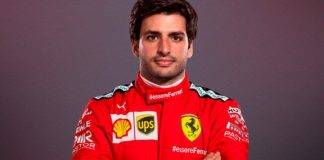 Carlos Sainz Ferrari, scuderia Sebastian Vettel